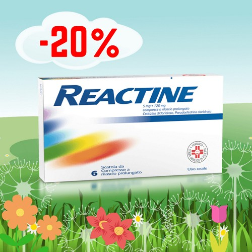 immagine Reactine al 20%